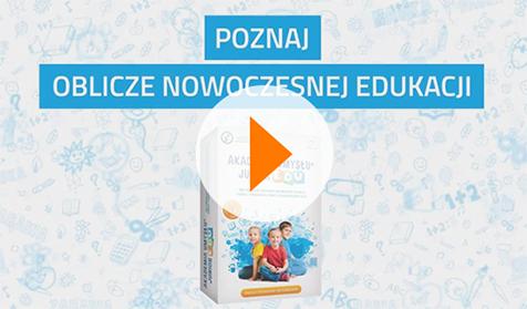Zobacz film jak ciekawe zajęcia w przedszkolu z udziałem programów edukacyjnych zapewnia pakiet Akademia Umysłu Junior EDU. Nauczyciel odnajdzie tu m. in. scenariusz zajęć w przedszkolu, karty pracy, prezentacje multimedialne