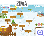 Zajęcia w przedszkolu ciekawsze z udziałem gier i programów edukacyjnych. Ćwiczenia koncentracji uwagi i pamięci - szczegółowy scenariusz zajęć w przedszkolu o tematyce zimowej