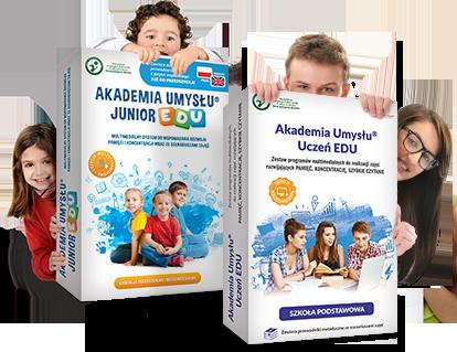 Akademia Umysłu EDU, to program edukacyjny i multimedialne prezentacje, scenariusz lekcji i konspekt zajęć, zeszyty metodyczne, karty pracy, autorski system motywacyjny dla szkół i przedszkoli